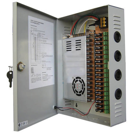 Mulview 25 Amp 12 VDC Power Supply MPS-300-18D