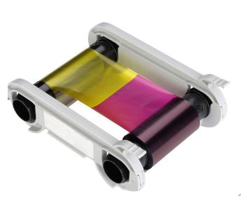 Evolis Badgy200 Ribbon YMCKO Color Ribbon 100 prints,- Avico