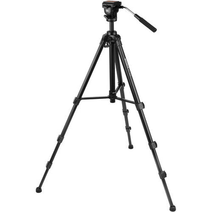 Magnus VT-400 Aluminum Tripod System with 2-Way Fluid Pan Head,- Avico