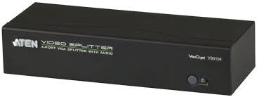 Aten 4-Port VGA/Audio Splitter VS0104,- Avico