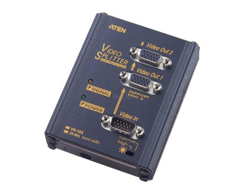Aten 2-Port VGA Splitter VS102,- Avico
