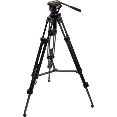 Magnus VT-4000 Tripod System with Fluid Head,- Avico