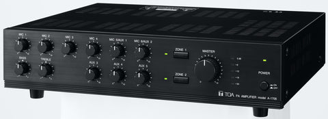 TOA A-1706ER 60W Mixer Amplifier