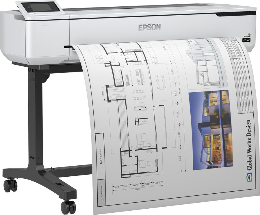 Epson SC-T5100 Large Format Printer: Technical