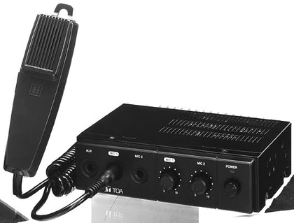 TOA CA-160 Mobile amplifier 60W,- Avico