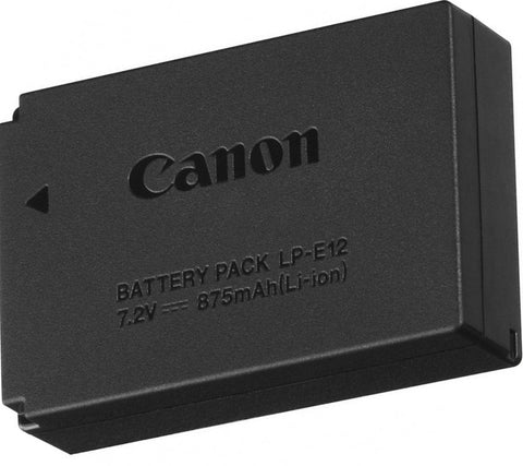 Canon LP - E12 Li-Ion Rechargeable Battery Pack