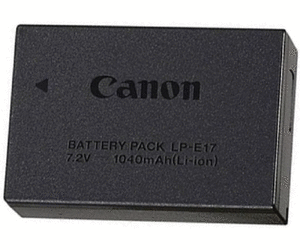 Canon LP - E17 Li-Ion Rechargeable Battery Pack