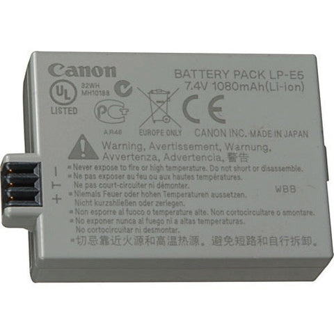 Canon LP - E5 Li-Ion Rechargeable Battery Pack