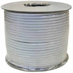 CAT 5 Cable 4 Pair UTP  Solid Grey/100M