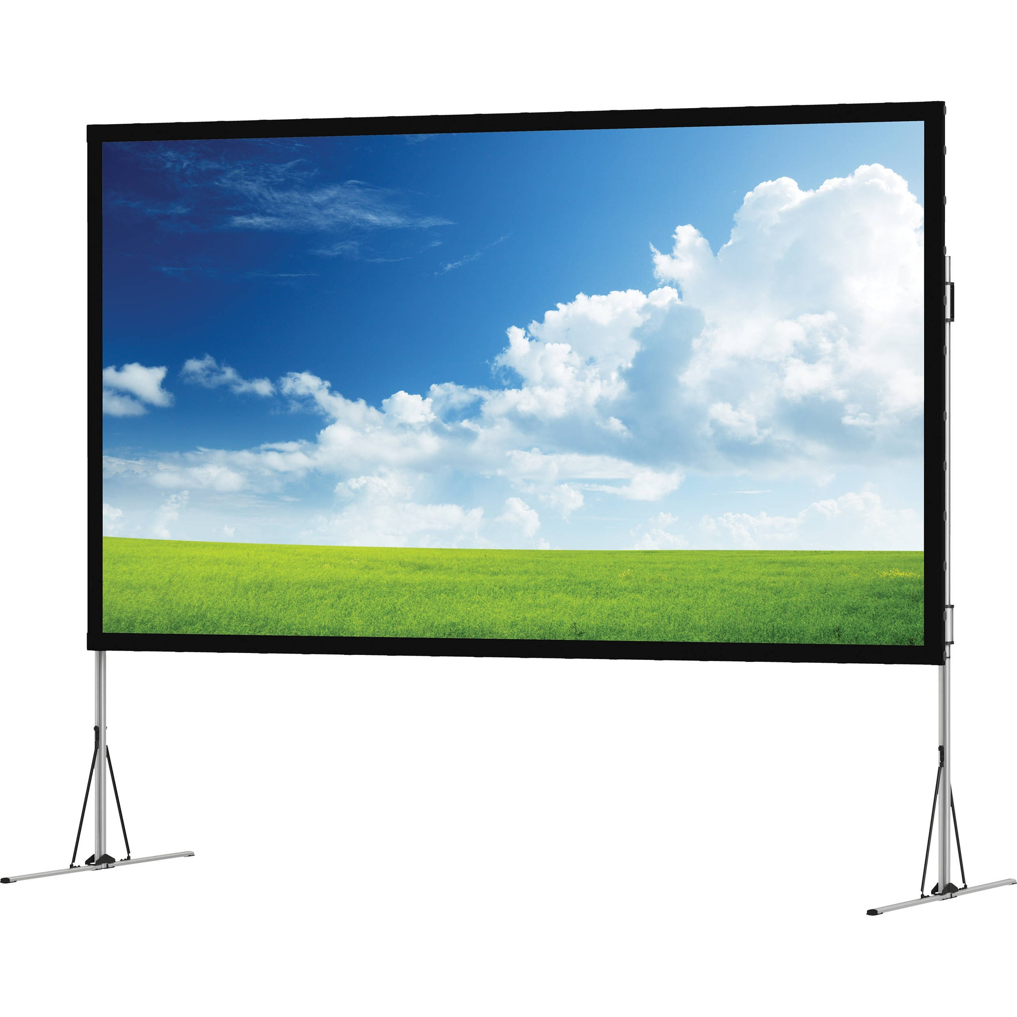 "Avico JK 159"" 352 x 198 Fast Fold Front and Rear Projection Screen, 16:9 JK-FF9 159FPRP"