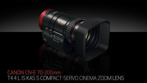 Canon Cinema Zoom Lens CN-E70-200mm T4.4 L IS KAS S