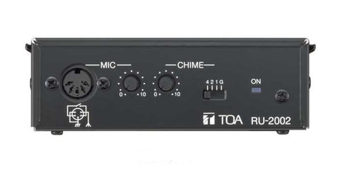TOA U-2002 Amplifier control unit,- Avico