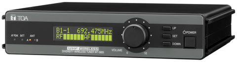 TOA WT-5805 UHF wireless tuner