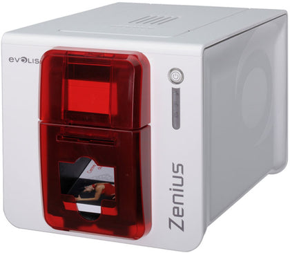 Evolis Zenius Single Sided Card Printer Bundle ZN1U-GP1,- Avico