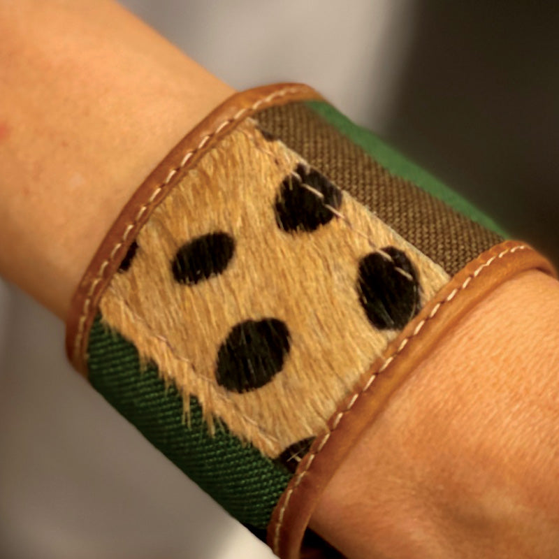 PT LOVE Cuff-Camo and Leopard- Large