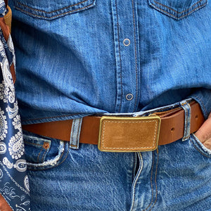 Jackie Belt with interchangeable belt buckle