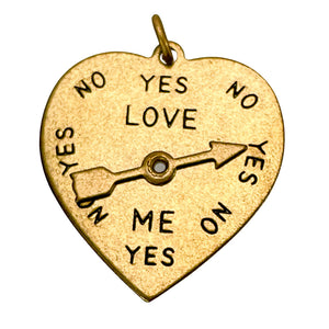 Vintage Heart Charm- Add love to your Chain!