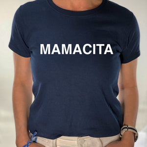 I AM a MAMACITA- Navy Short Sleeve