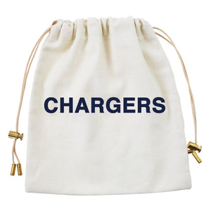 Cables and Chargers Pouch Natural-CHARGERS
