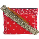 The Fluffy Lee-Red Bandana (the perseverance)-Coakley Web Strap