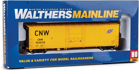 HO Scale Walthers MainLine 910-2057 CNW 164036 Chicago & North Western 50' Insulated Boxcar