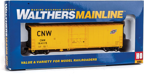 HO Scale Walthers MainLine 910-2058 CNW 164115 Chicago & North Western 50' Insulated Boxcar