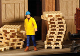 HO Scale Walthers SceneMaster 949-4129 Wood Pallets Kit (12) pcs