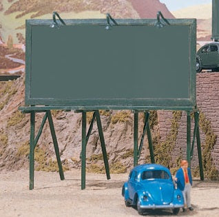 HO Scale Walthers SceneMaster 949-4250 Plain Billboards (3) pcs