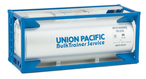 HO Scale Walthers SceneMaster 949-8110 UP Union Pacific 20' Tank Container Kit