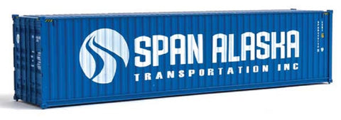 HO Scale Walthers SceneMaster 949-8273 Span Alaska 40' Hi-Cube Corrugated Container