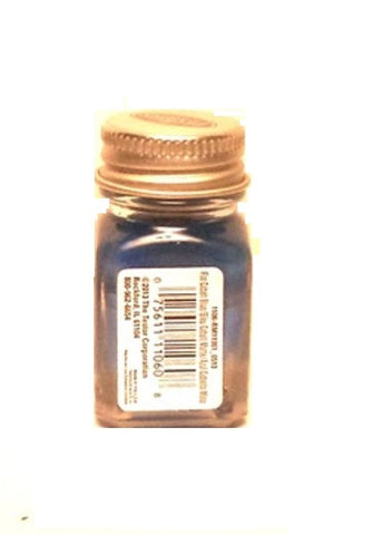Testors 1106 Cobalt Blue Enamel 1/4 oz Paint Bottle