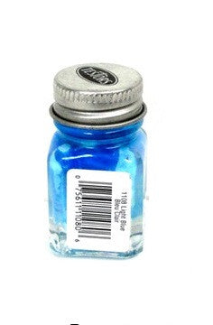 Testors 1108 Gloss Light Blue Enamel 1/4 oz Paint Bottle