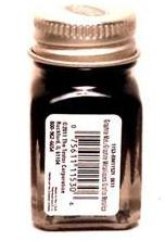 Testors 1153 Graphite Metallic Enamel 1/4 oz Paint Bottle