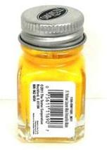 Testors 1169 Flat Yellow Enamel 1/4 oz Paint Bottle