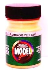 Badger Model Flex 16-24 UP Union Pacific Amror Yellow 1 oz Acrylic Paint Bottle