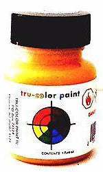 Tru-Color TCP-808 Flat Yellow 1 oz Paint Bottle