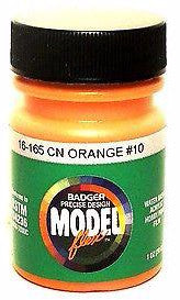 Badger Model Flex 16-165 CN Canadian National Orange # 10 1 oz Acrylic Paint