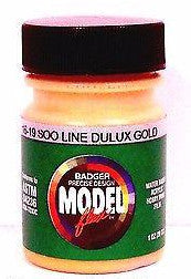 Badger Model Flex 16-19 Soo Line Dulux Gold 1 oz Acrylic Paint Bottle