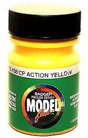 Badger Model Flex 16-158 CP Canadian Pacific Action Yellow 1 oz Acrylic Paint