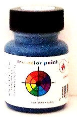 Tru-Color TCP-105 GTW Grand Trunk Western Blue 1 oz Paint Bottle