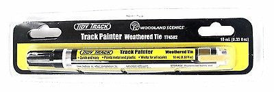 Woodland Scenics TT4582 Tidy Track Weathered Tie Track Painter