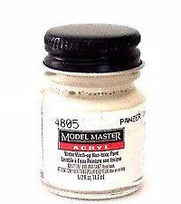 Model Master 4805 Panzer Interior Buff 1/2 oz Acrylic Paint Bottle