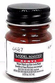 Model Master 4607 Burnt Sienna 1/2 oz Acrylic Paint Bottle