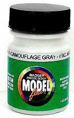 Badger Model Flex 16-97 Camouflage Gray FSC36622 1 oz Acrylic Paint Bottle
