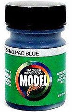 Badger Model Flex 16-86 MP Mo Pac Missouri Pacific Blue 1 oz Acrylic Paint
