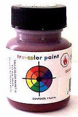 Tru-Color TCP-212 SAL Seaboard Airline Freight Car Red 1 oz Acrylic Paint Bottle