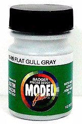 Badger Model Flex 16-99 Flat Gull Gray 1 oz Acrylic Paint Bottle