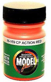 Badger Model Flex 16-159 CP Canadian Pacific Action Red 1 oz Acrylic Paint