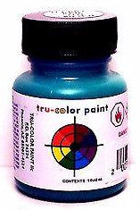 Tru-Color TCP-043 NYC New York Central Jade Green 1 oz Acrylic Paint Bottle