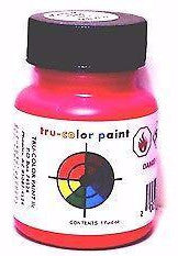 Tru-Color TCP-035 CN Canadian National Red-Orange 1 oz  Paint Bottle